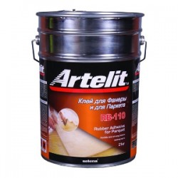Клей каучуковый Artelit RB-110 для фанеры и паркета 20кг