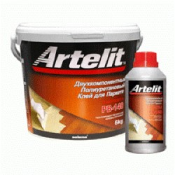 Клей двухкомпонентный Artelit RB-140 полиуретановый для паркета 6кг