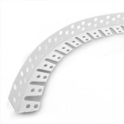 Угол арочный из ПВХ перфорированный под штукатурку, 3м