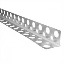 Уголок перфорированый алюминиевый, 3м