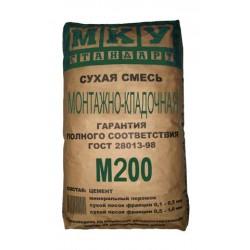 Монтажно-кладочная смесь МКУ М200 40кг