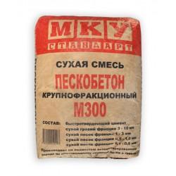 Пескобетон Мансуровское карьероуправление М300 крупнофракционный 40 кг