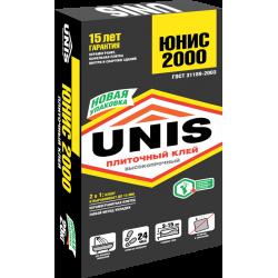 Плиточный клей UNIS/Юнис 2000 25кг