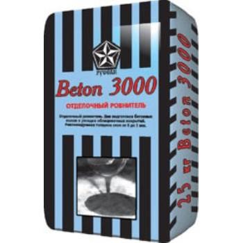 Ровнитель для пола Русеан Beton 3000,  от 0- 5мм, 25кг