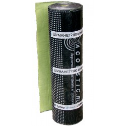 Шуманет - 100 Супер (Звукоизоляционная подложка под стяжку), 15м2, толщ. 4мм