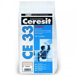 №01 CE 33/5 Затирка Ceresit CE33 2-5мм S(белый)