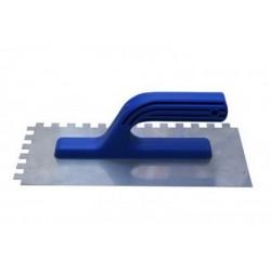 Гладилка нержавеющая 120 мм х 280 мм зубчатая
