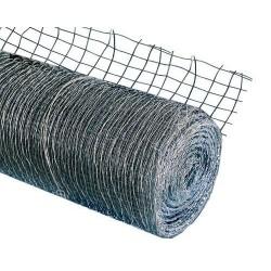 Сетка стальн.штукатурная тканная рул 1х80м.(Ячейка 15х15мм) оцинкованная